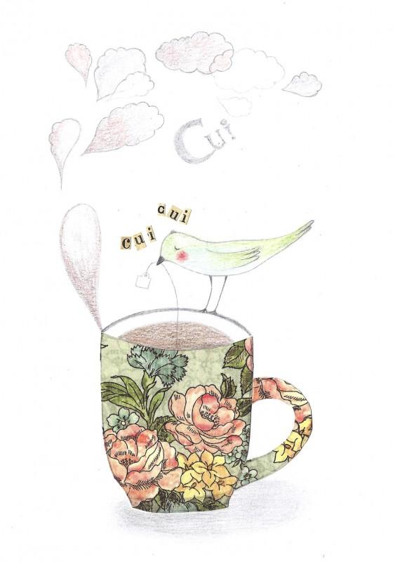 18 - Nuage de thé (12 x 17 cm, 80 euros)