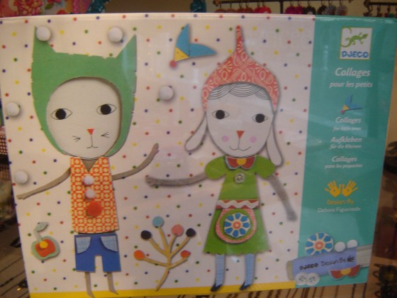 Collages pour les petits, dès 3 ans (17,50 euros)