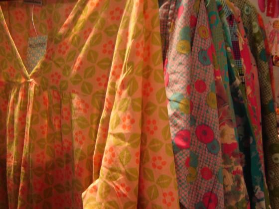 Tuniques/robes de plage Baby-doll, nombreux motifs et coloris, Taille unique (40 euros)