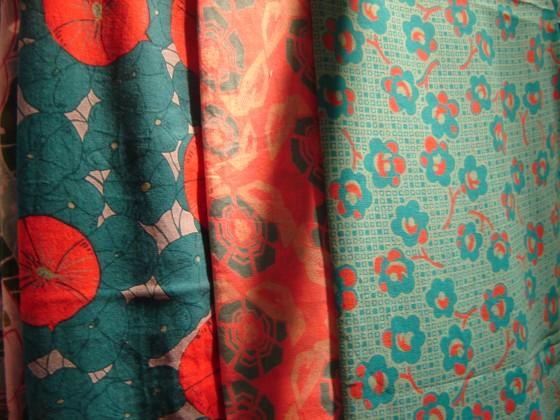 Etoles/paréos voile de coton, nombreux motifs et coloris (26 euros)