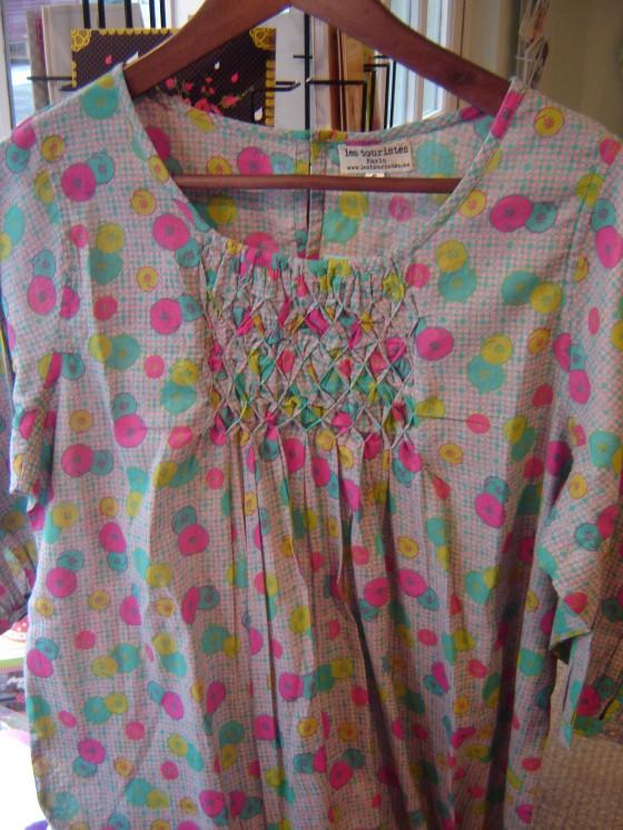 Petite robe Bahia, voile de coton (40 euros)