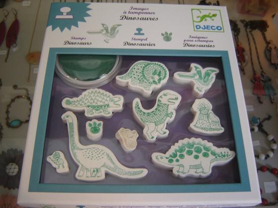 Tampons dinosaures (12,50 euros)