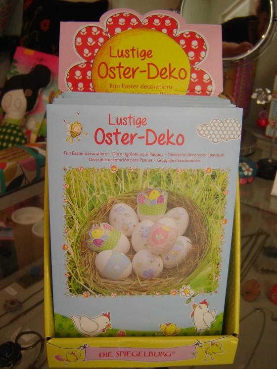 Kit pour décorer les oeufs de Pâques (5,50 euros)