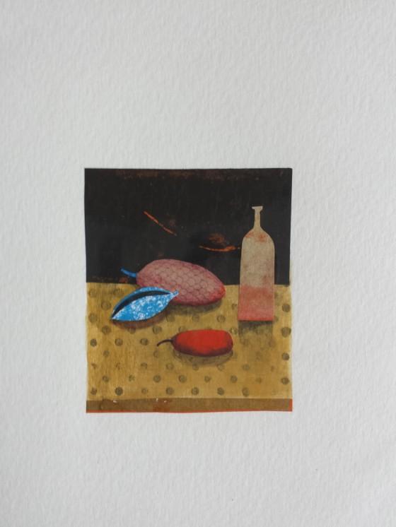Série des 13x18 cm (peinture, collage), n°26, 70 euros