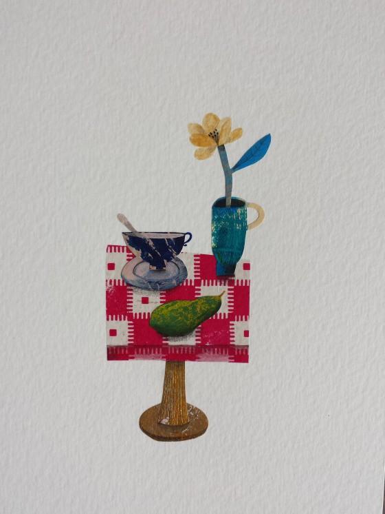 Série des 13x18 cm (peinture, collage), n°22, 70 euros