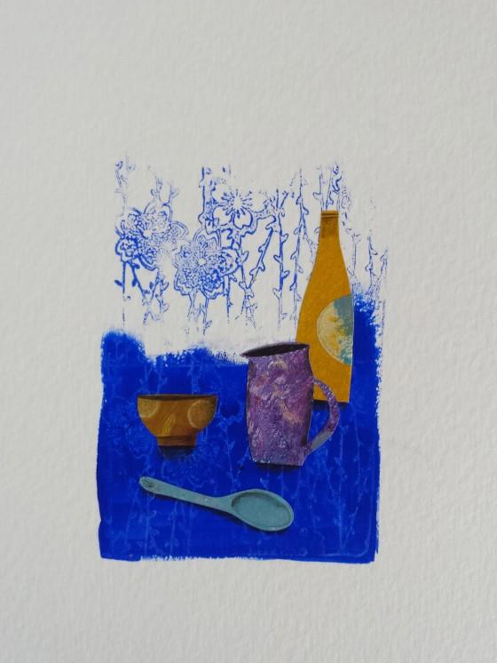 Série des 13x18 cm (peinture, collage), n°20, 70 euros