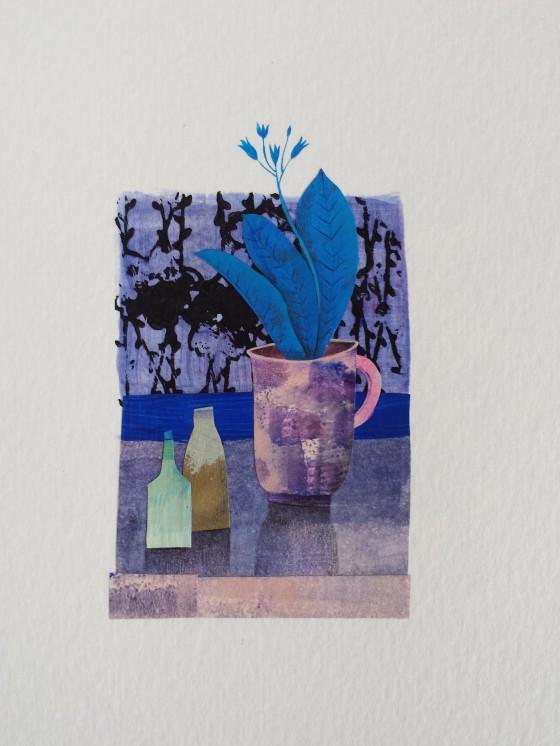 Série des 13x18 cm (peinture, collage), n°29, 70 euros