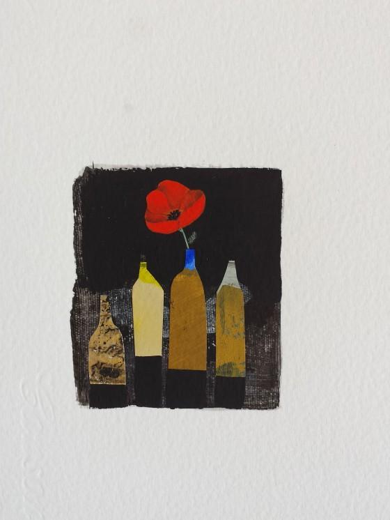 Série des 13x18 cm (peinture, collage), n°30, 70 euros