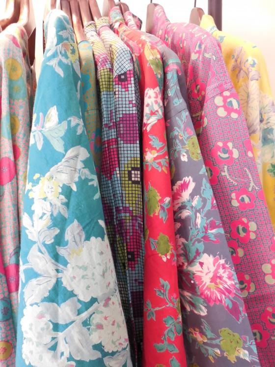 De nouveaux peignoirs/kimonos (46 euros)