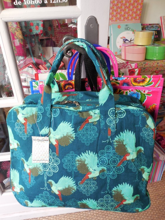 Sac week-end colibri bayou (53 euros)