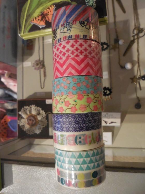 Masking tape (5,90 euros les 2 rouleaux)