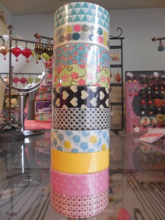 Masking tape Atomic Soda (5,90 euros les 2 rouleaux)