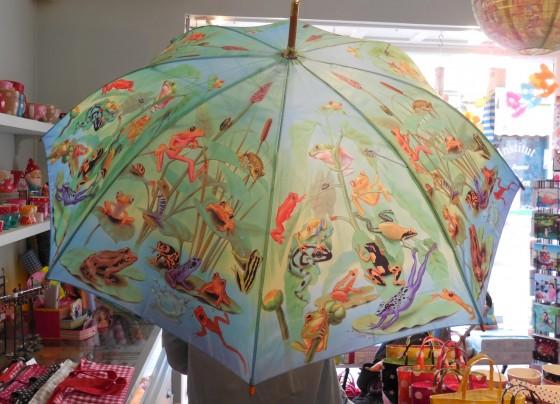 Parapluie manche bois (29,50 euros)