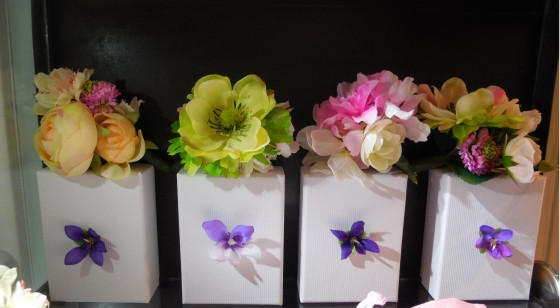 Broches Bouquets (25 euros)