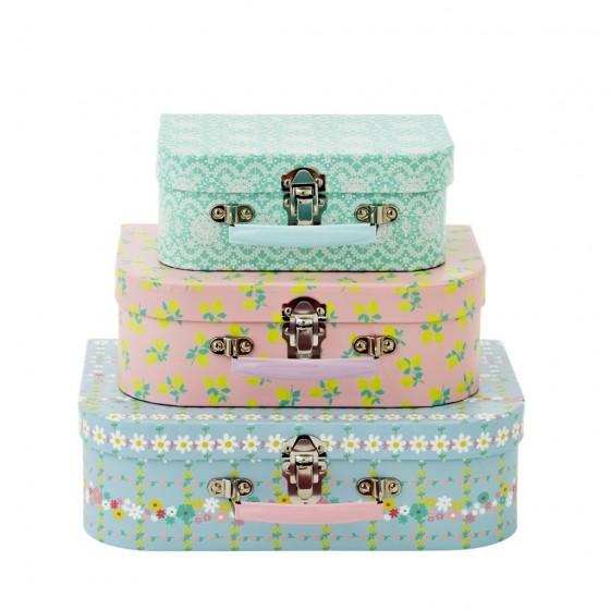 Valisettes en carton Rice (vendues à l'unité au magasin, en lot sur la boutique en ligne)