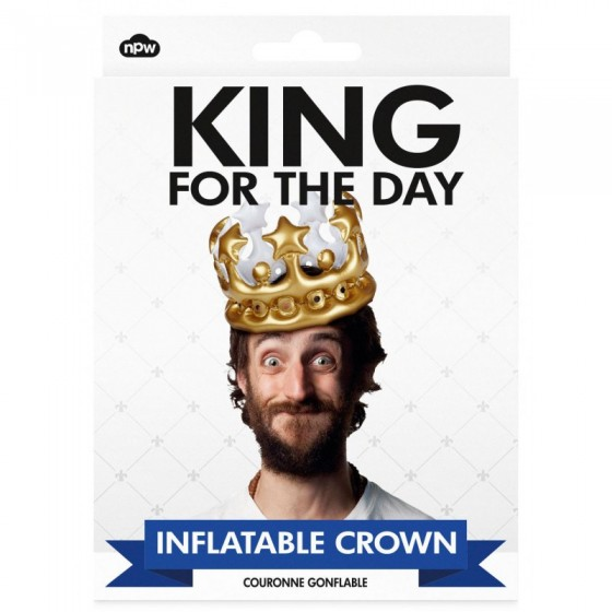 Couronne gonflable King for the Day (NPW, 4,50 euros)