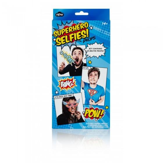 Kit pour selfies de super-héros (NPW, 6,50 euros)