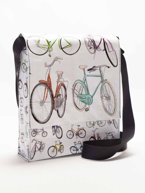 Messenger bag Bicycles (26,50 euros)
