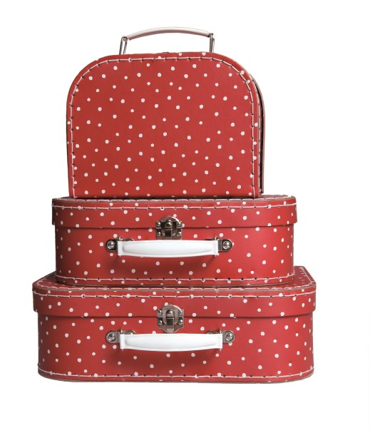 valises rouge