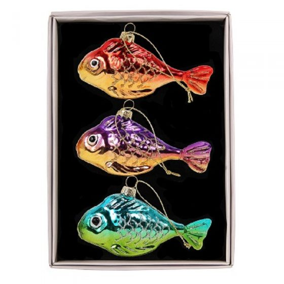 3 poissons multicolores (16,50 euros)
